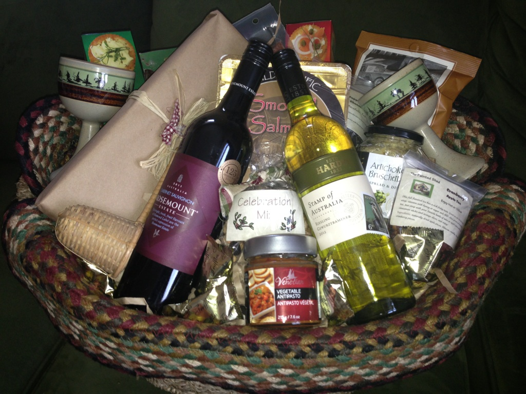 What\'s in the Basket?  Baskets are Made to Order, Please Give us a call. Great Gift Baskets in Prince George BC. Gift Baskets Made for that Special Someone or even Pamper Yourself.